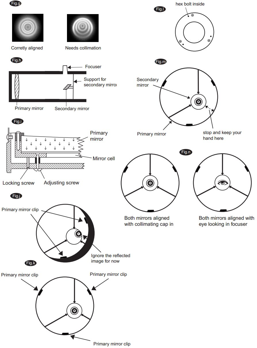 collimation of a dobsonian
